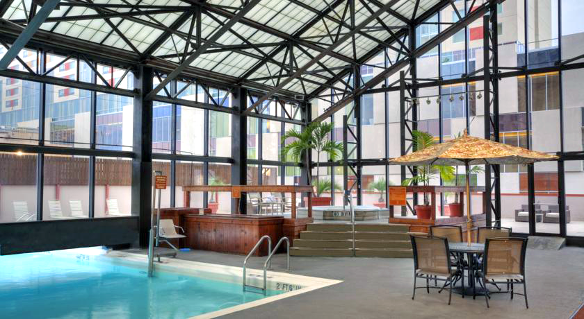 Hotel Accommodations: San Antonio Marriott Rivercenter